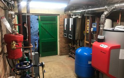 Thornborough Hall Gardens Plantroom Refurbishment