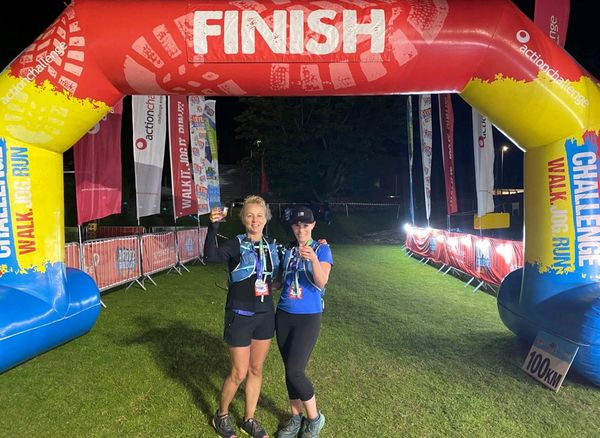 An update from Heather on her Lake District 100km challenge for Secondary1st